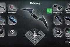 Bati Gadgets en el GamePad