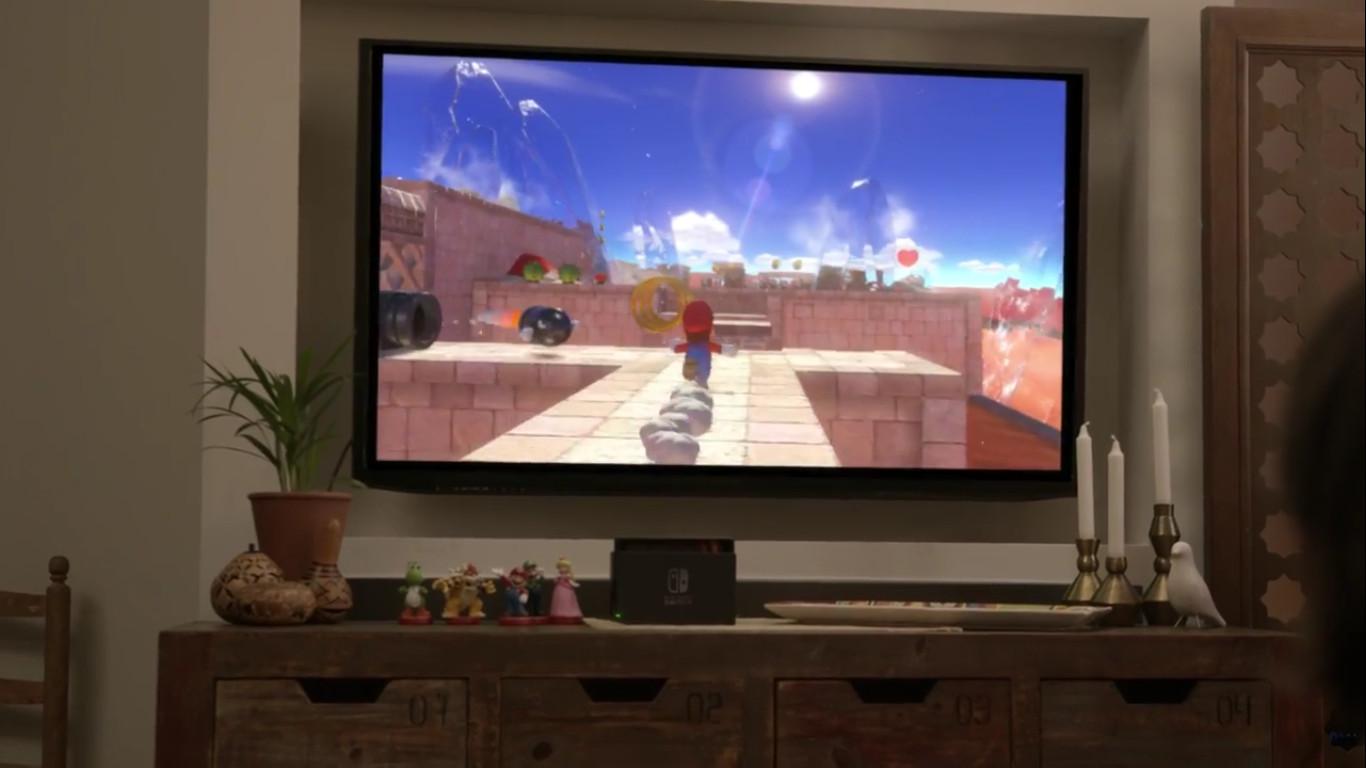 Super Mario en Nintendo Switch