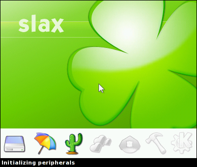 Slax Splash Screen