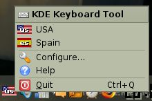 KDE Keyboard Tool