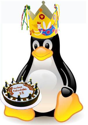 Cumpleaños Tux