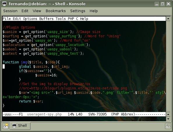 UserAgent Spy en Emacs