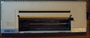 Impresora Atari 1027