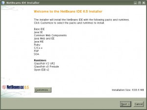 Instalacion NetBeans IDE 6.5 01