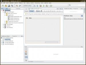 NetBeans - Aplicación lista para programar