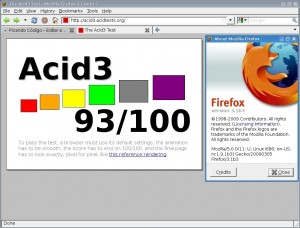 Mozilla Firefox 3.1b3