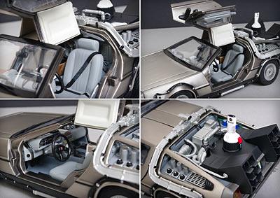 DeLorean detalle