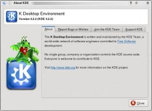 KDE 4.2.2