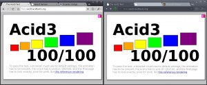 Acid 3 Test - Google Chrome / Chromium