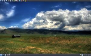 Debian GNU/Linux AMD64 KDE 4.2