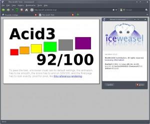 Iceweasel 3.5.2 Debian Squeeze