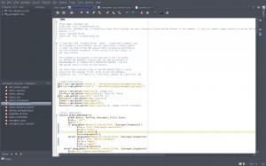 NetBeans pantalla completa