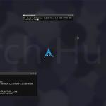 ArchHurd en modo gráfico
