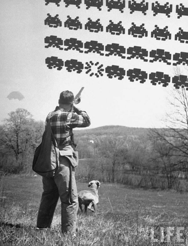 Cazando Space Invaders