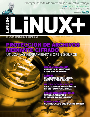Revista Linux+ junio 2010