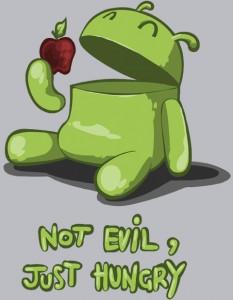 Android: No es malo, tiene hambre