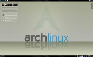 ArchLinux KDE Enero 2011