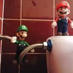 Mario, Luigi y la cisterna