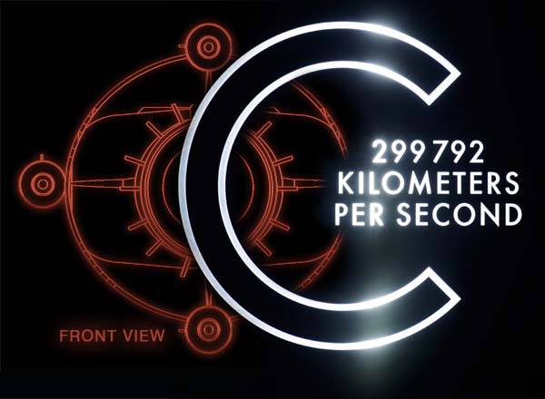 C - 299.792 km/s