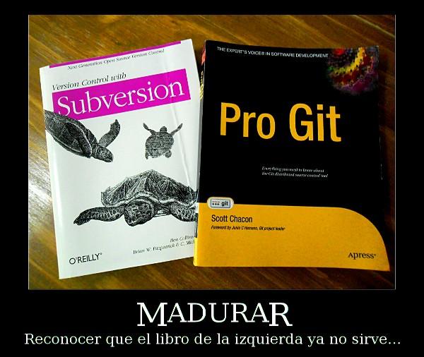 Madurar: Subversion vs. Git