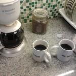 Nuestra cafetera en la oficina