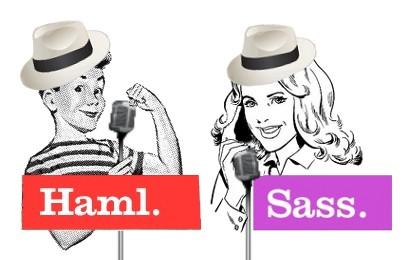Sinatra + Haml + Sass