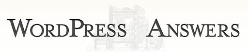 WordPress Answers