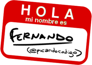 Hola, mi nombre es Fernando
