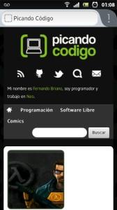 Firefox en Android con diseño nuevo