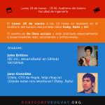 Afiche FING RubyConf