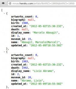 MNAV API JSON