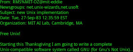 Nueva implementación de UNIX