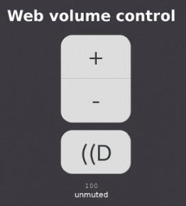 Web Volume Control