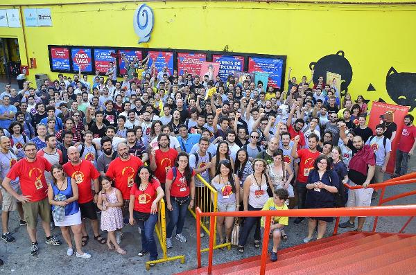 La gente de RubyConf Argentina 2014