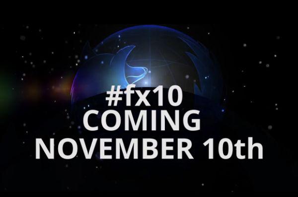 Mozilla fx10