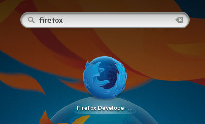 Firefox Gnome Shell