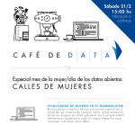 Café de DATA - Mes de la mujer/Día de los Datos Abiertos