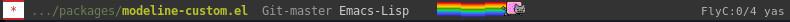 Emacs Mode Line personalizado