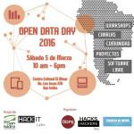 Día Mundial de los Datos Abiertos 2016 - Perú