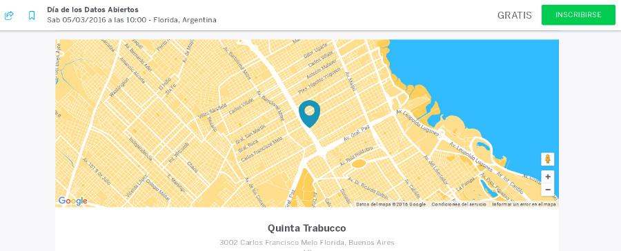 Día Mundial de los Datos Abiertos 2016 - Argentina