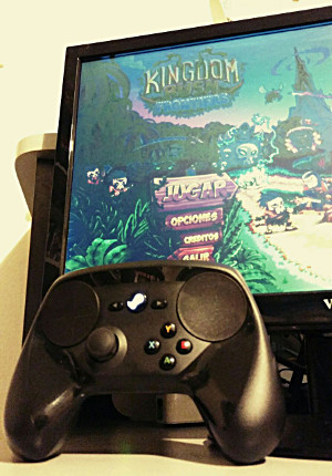 Steam Controller + Kingdom Rush