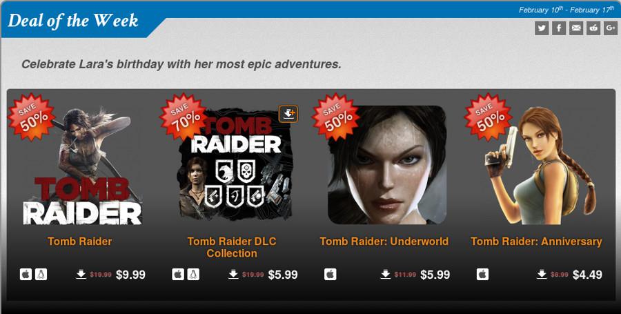 Oferta Tomb Raider