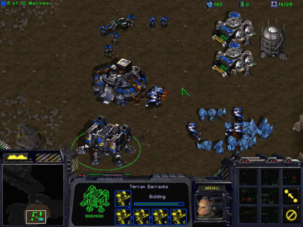 StarCraft Terran Campaign