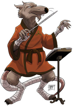 Música, Maestro Splinter