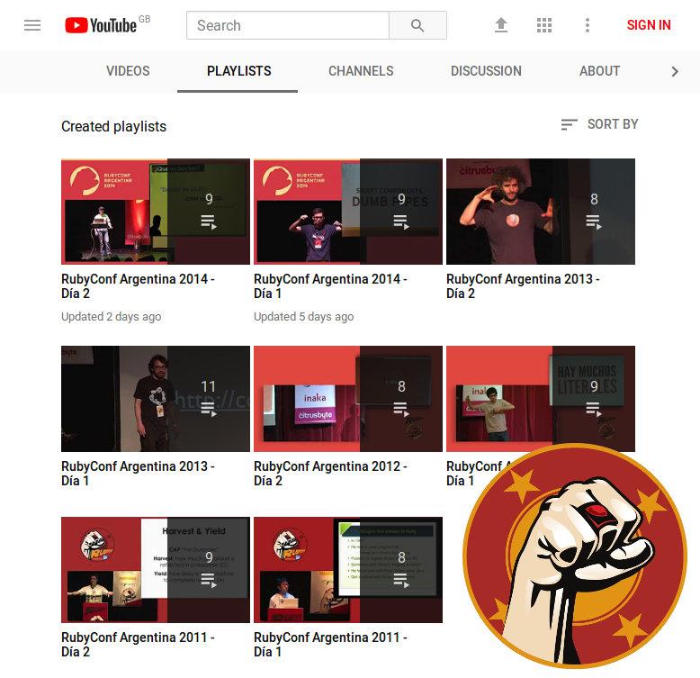 RubyConf Argentina Videos