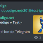 Bot de Telegram para WordPress