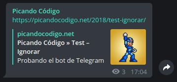 Bot de Telegram para WordPress