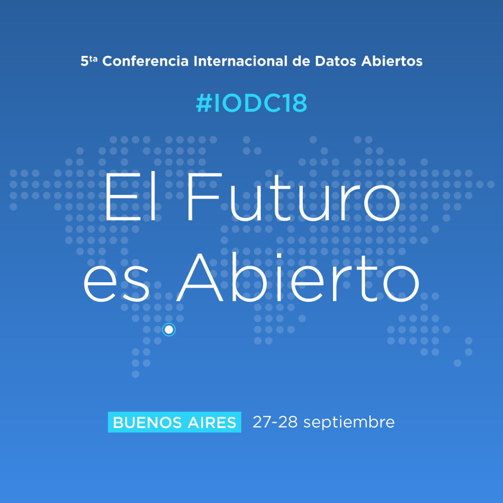 Conferencia Internacional de Datos Abiertos 2018