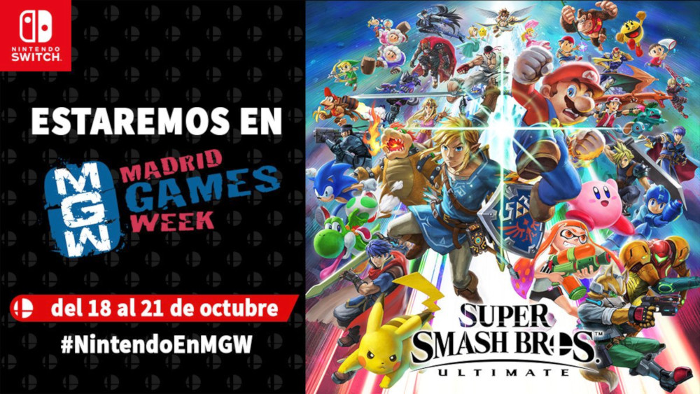 Nintendo en Madrid Games Week
