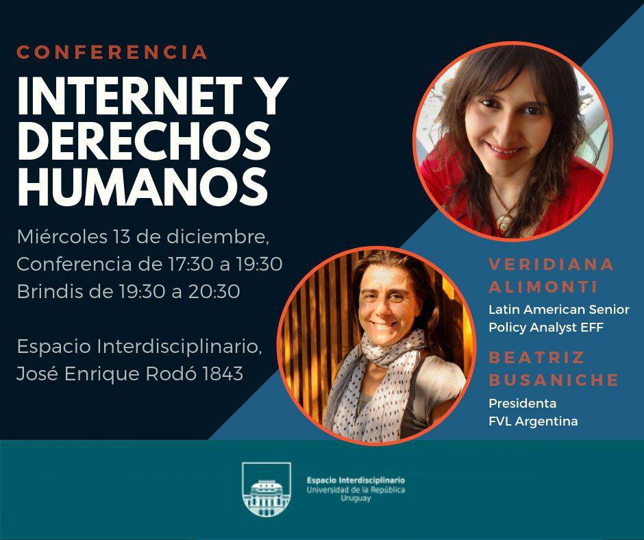 Conferencia Internet y Derechos Humanos